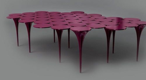 Original design coffee table I ONLY HAVE EYES FOR YOU  by Damien Langlois-Meurinne SE LONDON