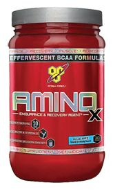 BSN Amino X - Blue Raz, 15.3 Ounces , Powder