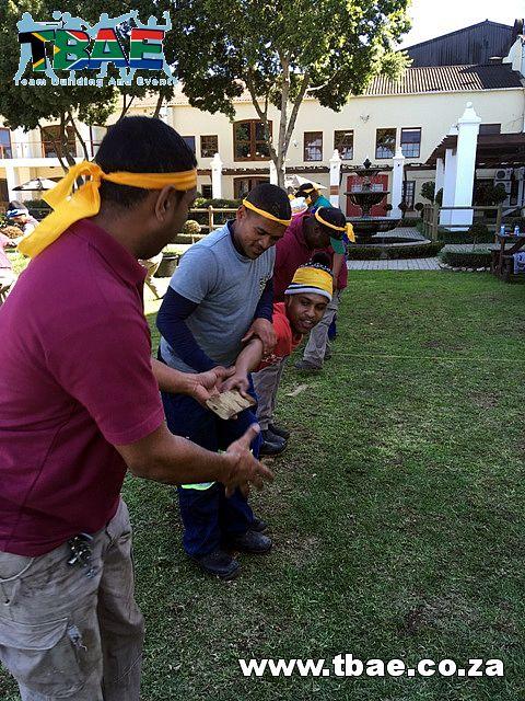 Lava Flow Team Building Activity