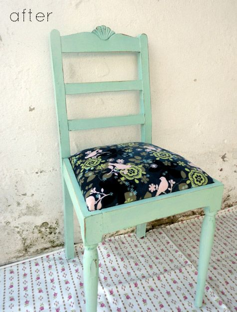 chair ... love the color with black