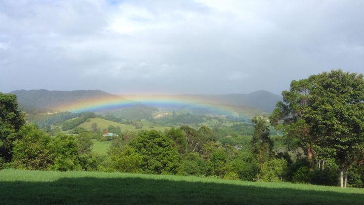 Land of rainbows.