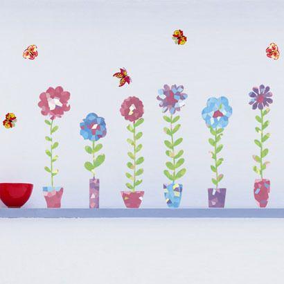 Doodle adesivi murali di vetro adesivi
