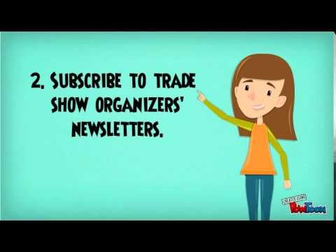 How to Find Trade Show Events to Participate In