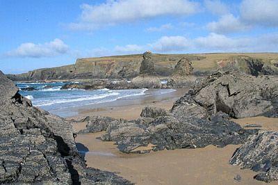 Beach at Porthcothan Bay, Cornwall
