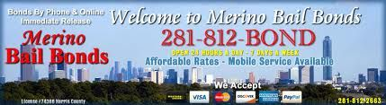 Merino Bail Bonds is a Bail Bonding Agency located in Harris County (License#74368). We have two locations to serve you, with an office in the heart of bail bondsman humble tx and another in Humble, TX. More Info : http://www.merinobailbonds.com/