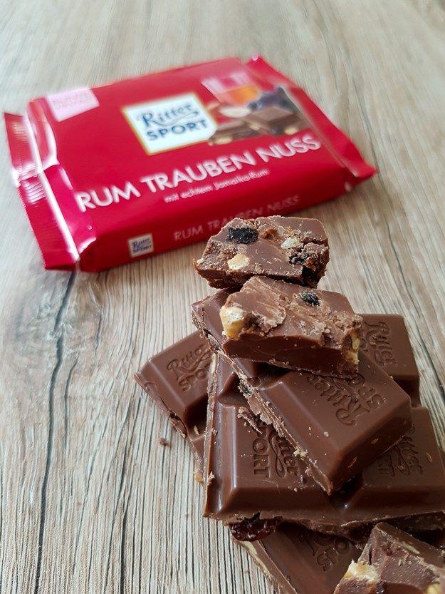 Review Rum Trauben Nuss from Ritter Sport Chocolate