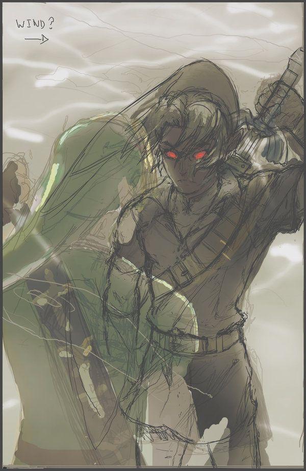 Link vs. Dark Link sketch