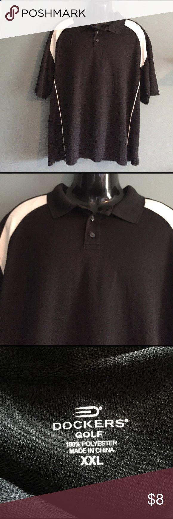Golf Shirts - Mens Dockers Golf shirt Mens Dockers golf shirt. In good condition. XXL. Dockers Shirts Polos