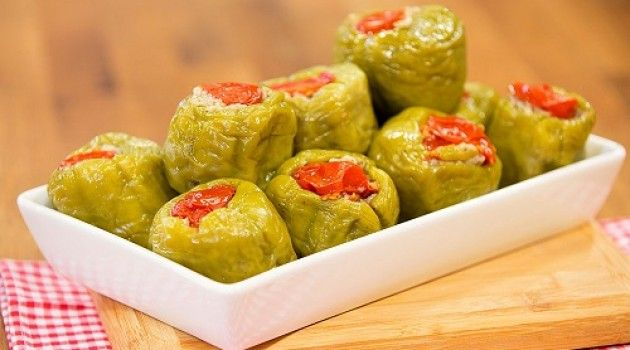 Arda'nın Mutfağı Zeytinyağlı Biber Dolması Tarifi 14.05.2016