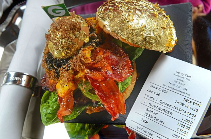 It has no discernable taste, is completely devoid of any nutritional value and, above all, is incredibly expensive. Yet this hasn't stopped the publicity-hungry chefs using gold to draw attention to their culinary creations – whether they are shards of gold leaf or sprinkled flecks of the stuff.