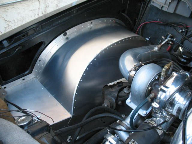 Custom Inner Wheel Wells All Aluminum Inner Fender Wells