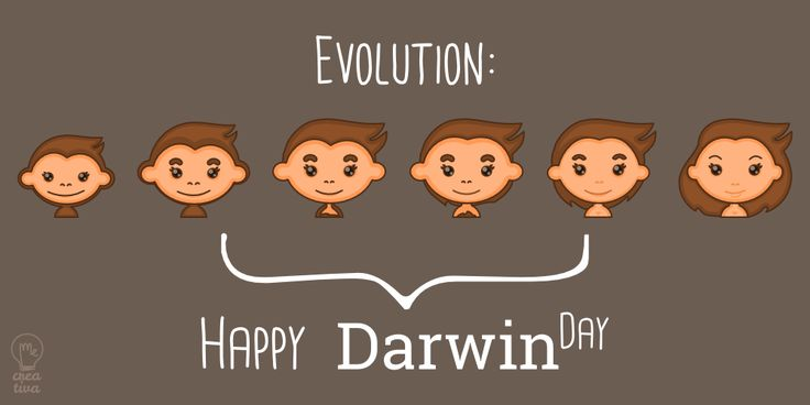 Happy Darwin Day Human Evolution
