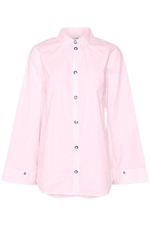 Rosa bomullsskjorte  Gestuz - kaya shirt 1875