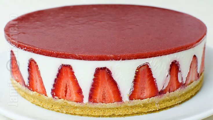 Cheesecake fara coacere | Cheesecake without baking (CC Eng Sub) | Jamil...