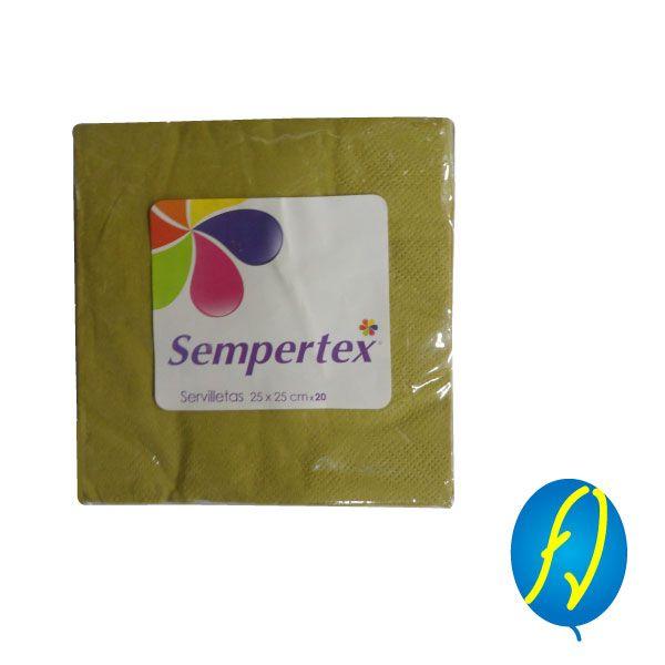SERVILLETA DORADA SEMPERTEX, un producto más de Piñatería Fiesta Virtual de Colombia - lo puedes ver en http://bit.ly/2smfHE4. #FiestaVirtual