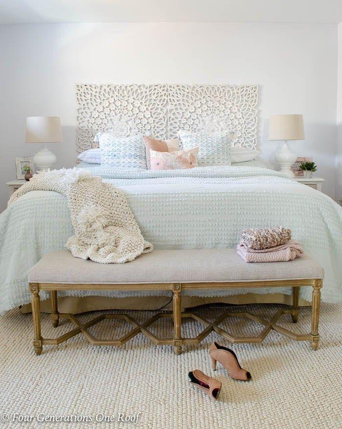 Diy Mint Green Master Bedroom Budget Makeover Green Master Bedroom Mint Green Bedroom Stylish Bedroom Design