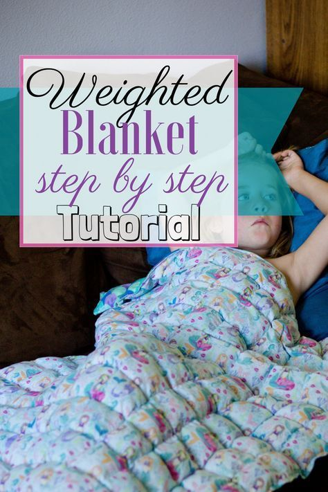 Weighted blanket step by step tutorial. Very thorough instructions. #weightedbla…