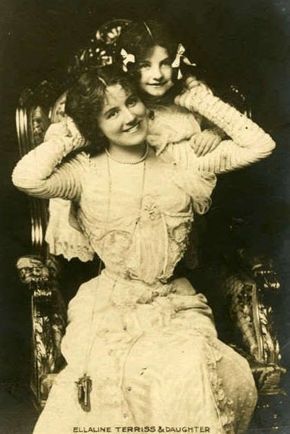 1900's woman and child,  Edwardian