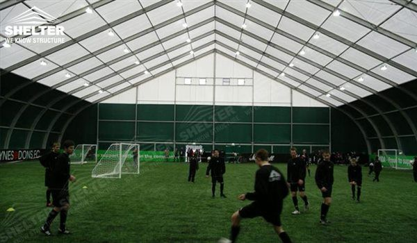 SHELTER Sports Structures for Football Court