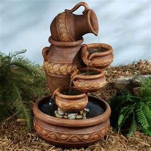 Natures Element Indoor Outdoor Water Fountain