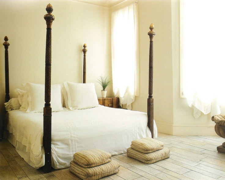 Indian inspired minimalist bedroom