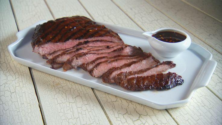 Soy Marinated Flank Steak