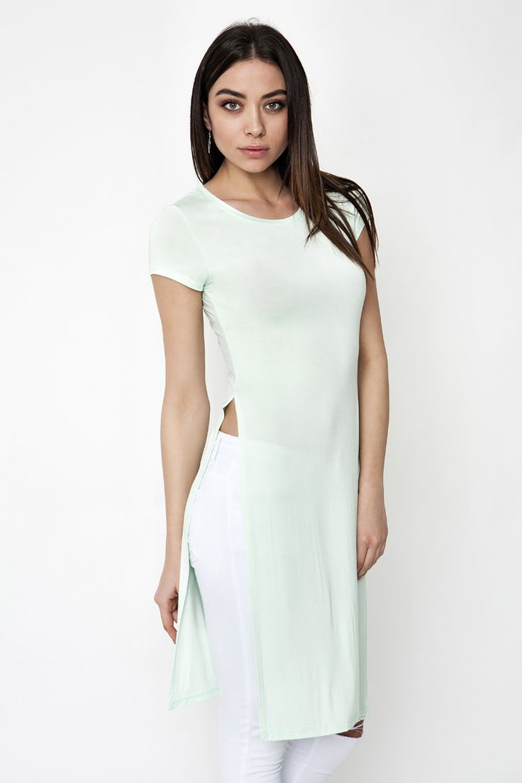 Long Line Top - ΡΟΥΧΑ -> Μπλούζες | Made of Grace