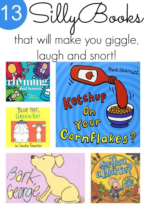 Super Silly Books for Kids