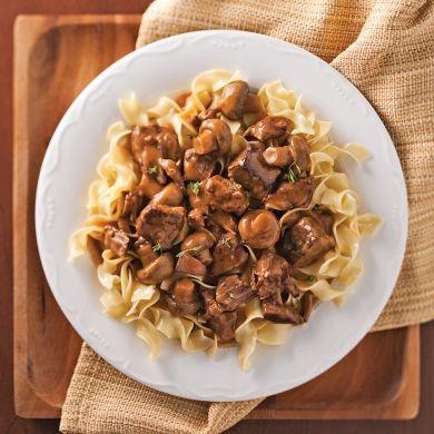 Boeuf Stroganoff - Recettes - Cuisine et nutrition - Pratico Pratique