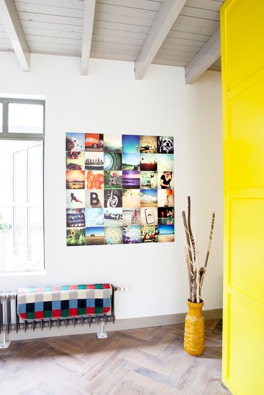 Create an ixxi out of your instagram pictures. Such a great and personal wall decoration