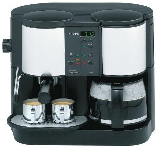 krups 888 43 caffe centro time 10 cup coffee pump espresso machine house stuff. Black Bedroom Furniture Sets. Home Design Ideas