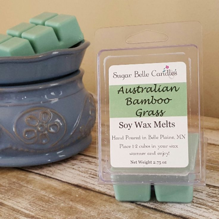 This is one scent that doesn't get the attention it deserves online. Australian Bamboo Grass is a wonderful spring scent and a local best seller!