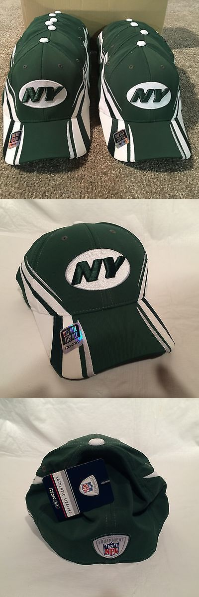 Helmets and Hats 21222: New York Jets Football Team Issued - On-Field Sideline Reebok Hat - Dealer Lot -> BUY IT NOW ONLY: $99.99 on eBay!