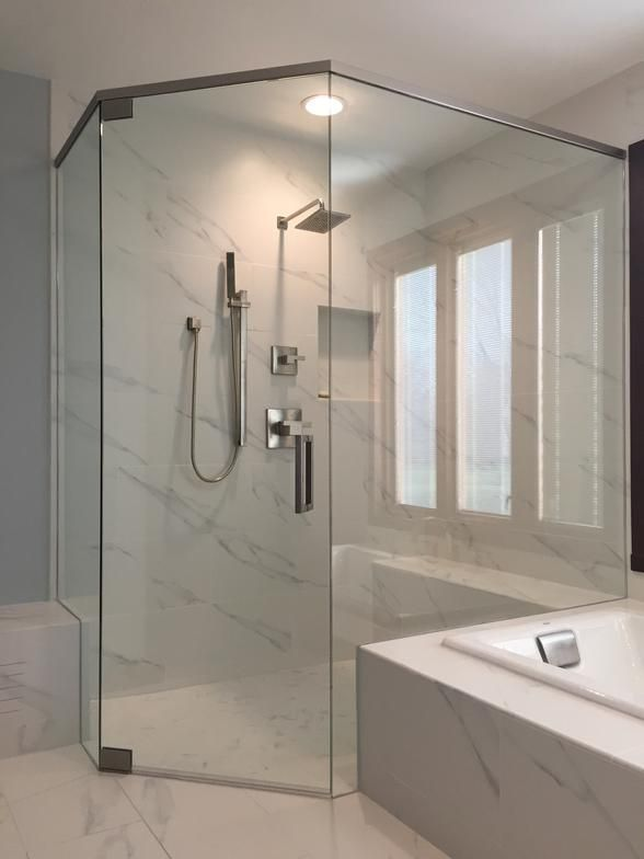 Pin By Cynthia Schwendeman On Shower Ideas Frameless Shower