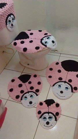 jogo de banheiro de joninha