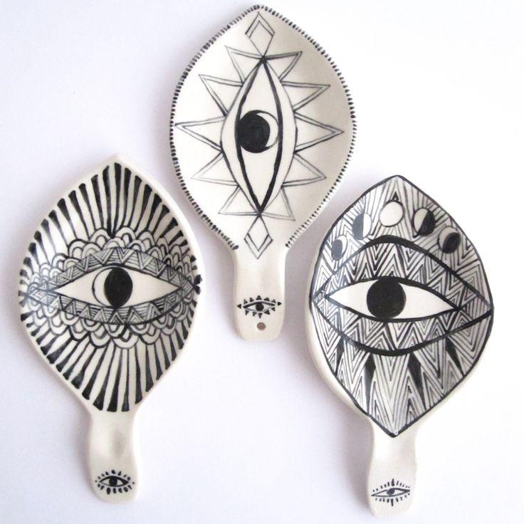 Spirit Eye Spoon Rests - Onyx                                                                                                                                                                                 More