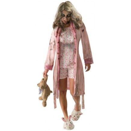 un deguisement pour femme totalement terrifiant.