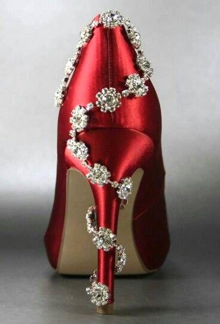 designer red wedding shoes - photo #21