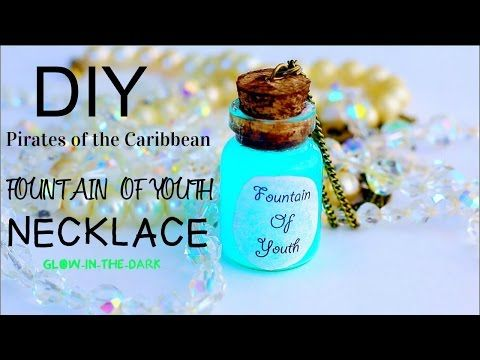 DIY Pirates Of Caribbean Fountain Of Youth Necklace - YouTube