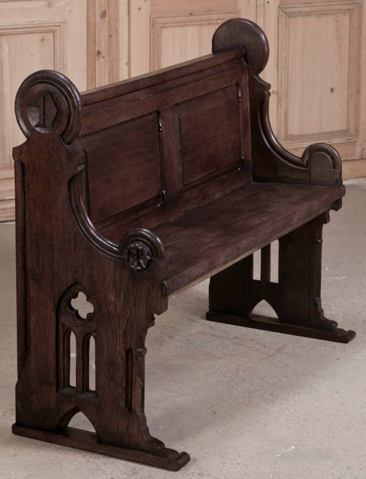 11 Best Unique Church Pews Images On Pinterest Church Pews Antique Furniture And Benches