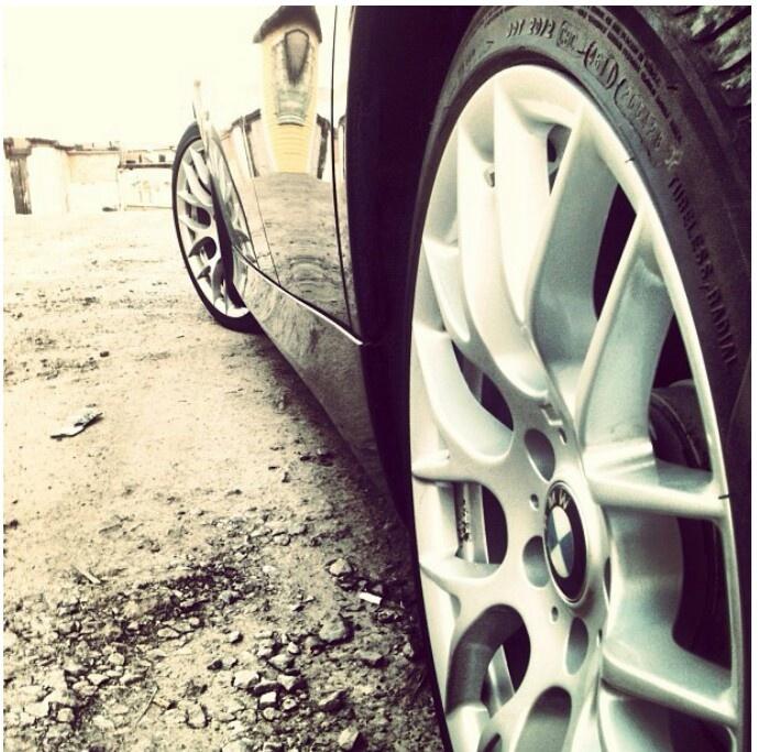 BMW wheel angle