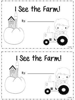 Farm Emergent Reader {freebie}