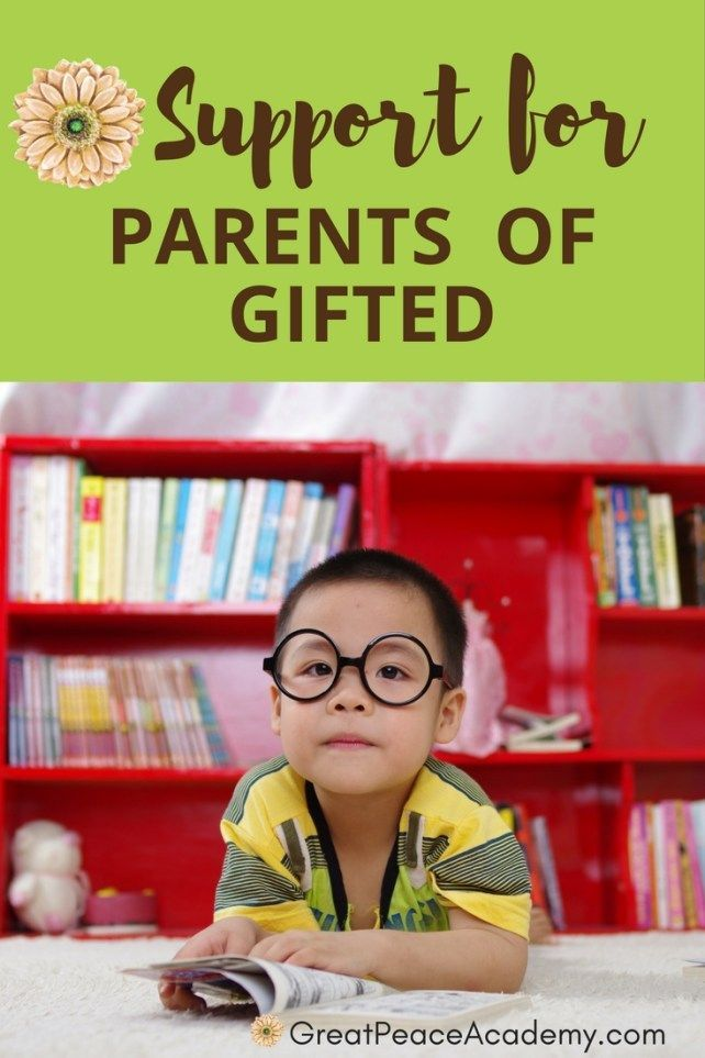 Web Resources for Parents of Gifted | GreatPeaceAcademy.com