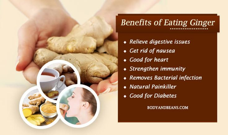 Ginger has anti-oxidative and anti-inflammatory properties. Benefits of eating ginger include digestion, stomach issues, vomiting, nausea and much more.