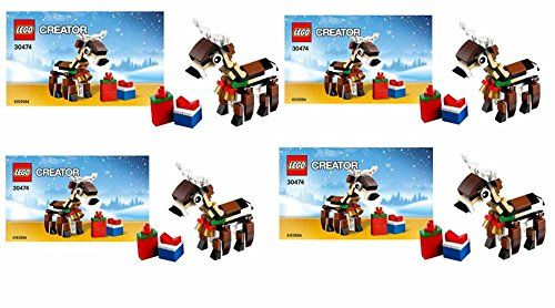 LEGO Creator 30474 Reindeer 77 Piece Polybag Set of (4) – Best-Toys-Store.com – Your Online Toy Stores
