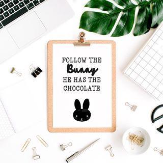 Follow the bunny | Pasen | Easter | www.vanmariel.nl