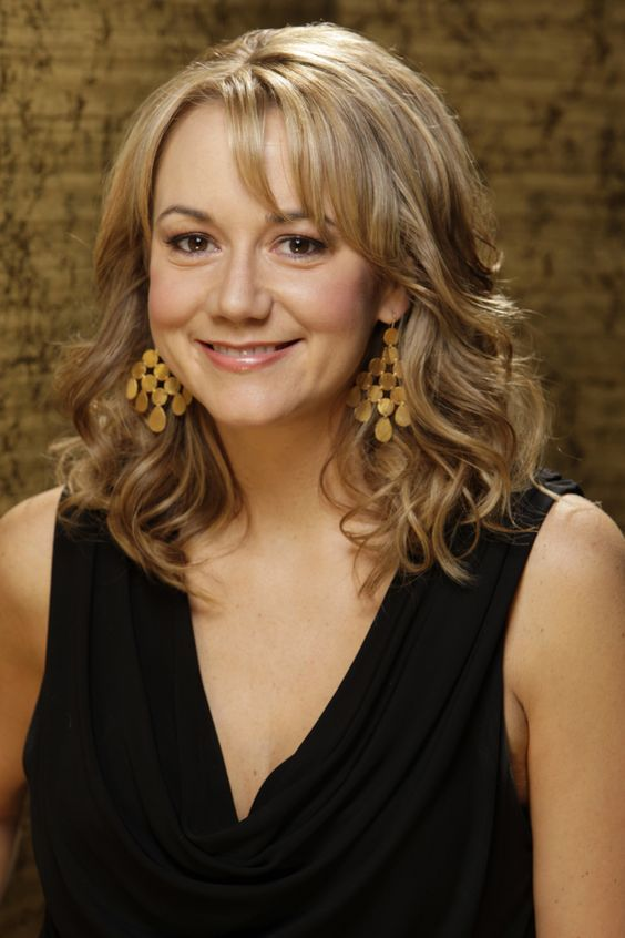 "Megyn Price as Audrey Bingham in ""Rules of Engagement."""