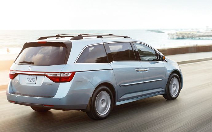 A smooth, quiet ride, and a more confident feel on the highway, makes the Odyssey the perfect getaway vehicle.