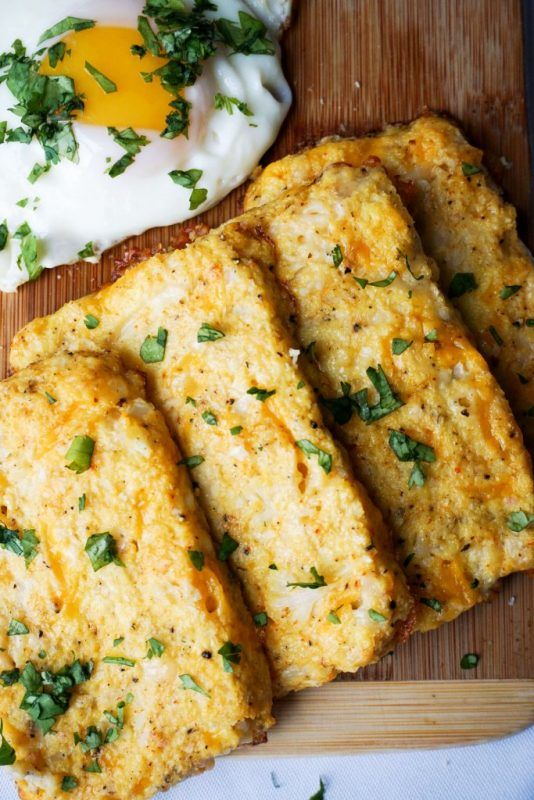 These Cauliflower Hash Browns minus the cheese, add rice flour and a bit of EVOO