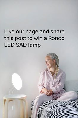 Like Innolux UK's Facebook Page for a chance to win a Rondo LED SAD lamp. Competition till 7th Nov 2016. Follow this link: https://www.facebook.com/InnoluxUK/